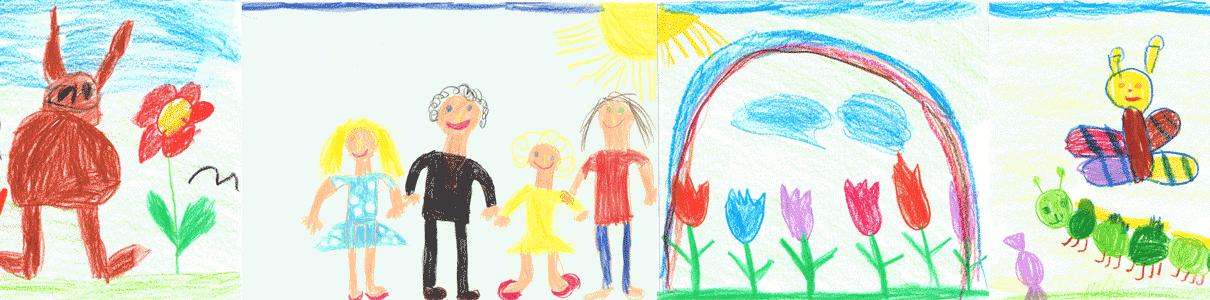 Zeichnungen Kindergarten Franziskus Gengenbach